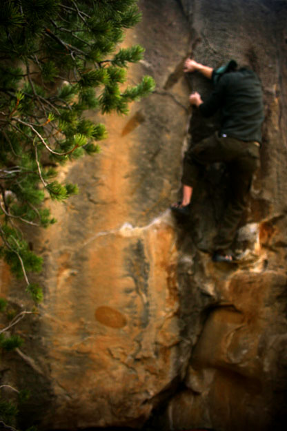 Graham on scary highball, Scary V3